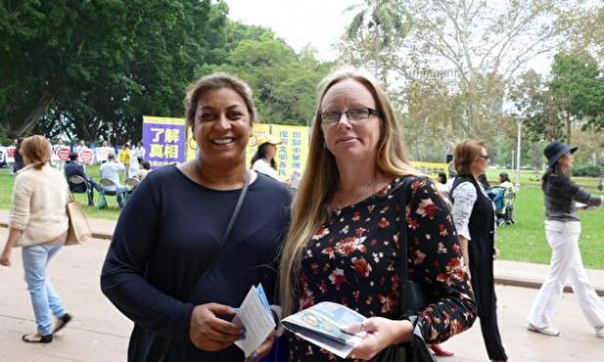 Sydneysiders Stand With 300 Million Chinese Who Have Cut Ties With the Chinese Communist Party