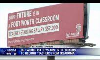 Fort Worth ISD Using Billboards to Recruit Oklahoma Teachers