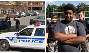 Teen notices couple acting weird at bus station—he follows them and finds—It's really bad