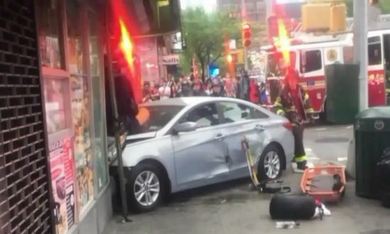 6 Injured When Car Jumps Curb, Crashes Into Chelsea Deli