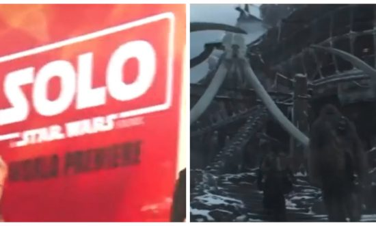 Solo: a Star Wars Story World premiere in Hollywood