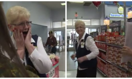 Walmart employee is shocked when a man walks in holding a sign—you can't imagine what it says