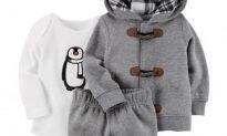 Carter's Recalling Baby 'Penguin' Clothing Set Over Choking Hazard