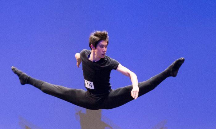 Piotr Huang. (Shen Yun Performing Arts)