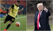 Top Israeli Soccer Team Adds 'Trump' to Its Name, Honoring US Embassy Moving to Jerusalem