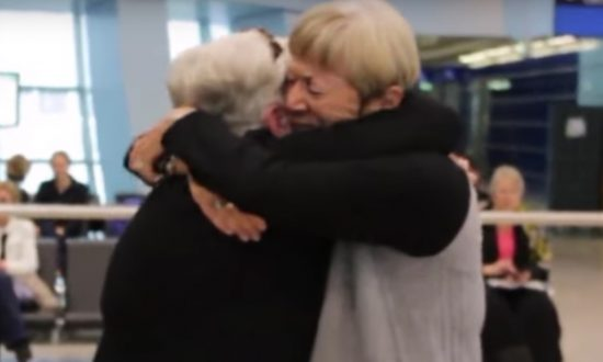 Sisters are finally reunited, but wait till you hear how long they've been apart—my jaw drops