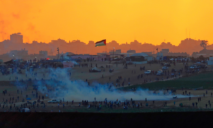 Israel Targets Hamas Position After Gaza Gunfire