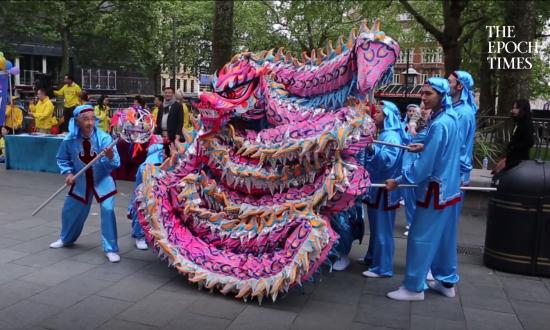 London Celebrates World Falun Dafa Day