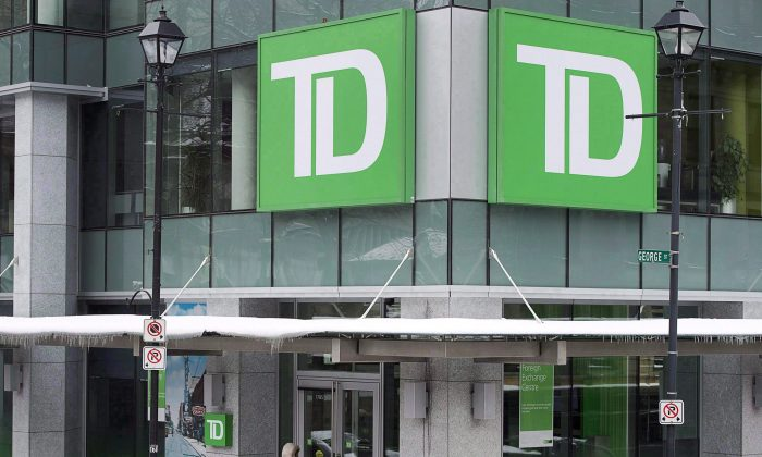 TDBankis dropping its variable rates for mortgages to gain market share as rates rise. (The Canadian Press/Andrew Vaughan)