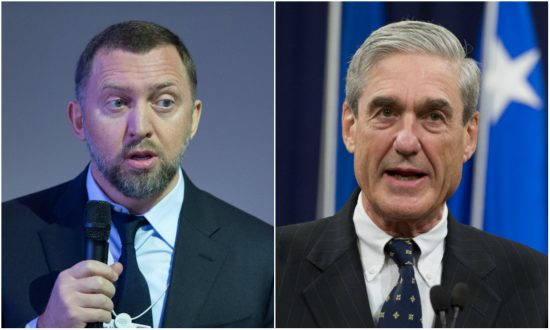 Conflict of interest? Mueller's FBI courted Russian oligarch connected to Manafort: report