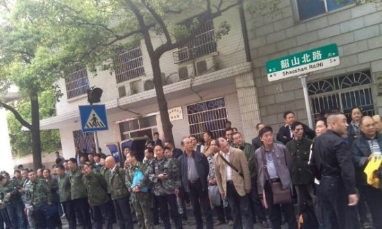 Chinese Veterans Hold Protests Across Country, Calling for Adequate Welfare, Medical Treatment