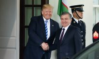 Trump Meets With Uzbek Leader at the White House