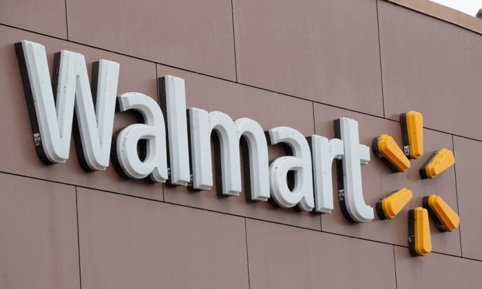 The Walmart logo is seen in a file photo. (Scott Olson/Getty Images)