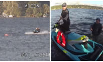 Officers respond to kayakers in distress—what happens next—check the footage