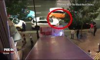 Man Slides Down Building Awning, Isn't Hurt