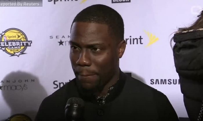 Actor Kevin Hart (Reuters).