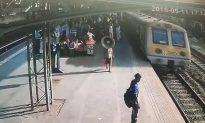 Man Rescues Toddler From Underneath a Train Carriage