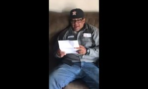 Heartwarming Moment Daughter Surprises Step-Dad with Adoption News