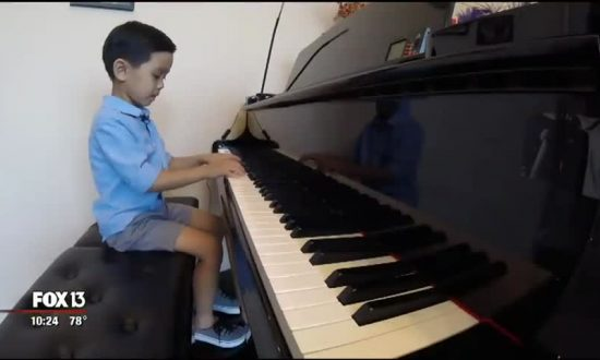6-Year-Old Musician Juggles Playtimes