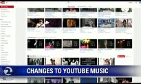 Changes to YouTube Music