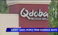 Sheriff Saves 2 Men from Heroin Overdose at Qdoba Restaurant