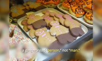 England Bakery Asks Customers to Order Gingerbread 'Person'— Not 'Man'