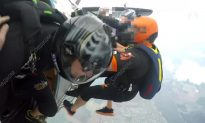 Two Russian Skydivers Die After Colliding Midair