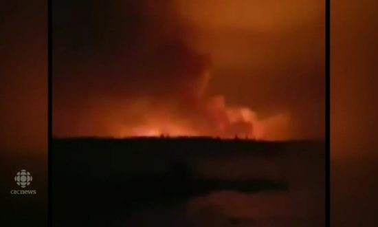Inside Military Effort to Rescue People Trapped by Manitoba Forest Fire