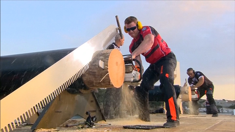 Canada's Stirling Hart Wins One of the World's Toughest Logger Sports Competitions