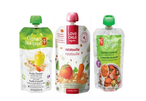 16 Organic Baby Food Pouches Recalled Due to Packaging Defect