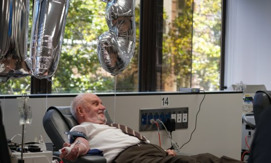 This man required multiple blood transfusions to survive—now his blood has saved millions of lives