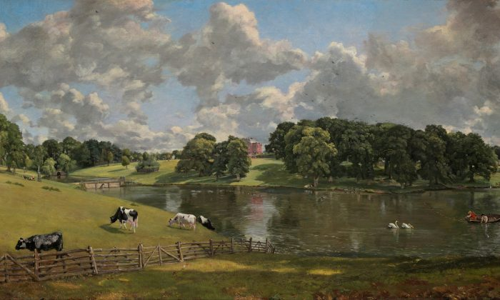 """""""Wivenhoe Park,"""" 1816, by John Constable. National Gallery of Art, Washington. Despite, or because of, our increasingly noisy world, we always long for the ideal: serenity. (Public Domain)"""