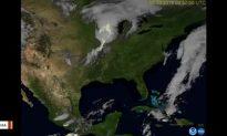 NOAA Video Shows Lightning Storm Across US