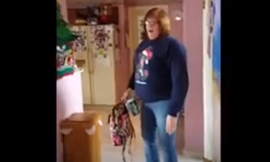 Son surprises mom with the best gift—pay attention to what mom says near the end