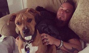 Rockstar heartbroken after beloved dog dies of cancer
