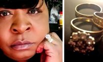 Woman overjoyed to get back her 3 rings she accidentally flushed down the toilet