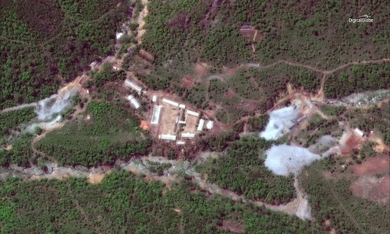 'Huge Explosions' at North Korea Nuclear Site