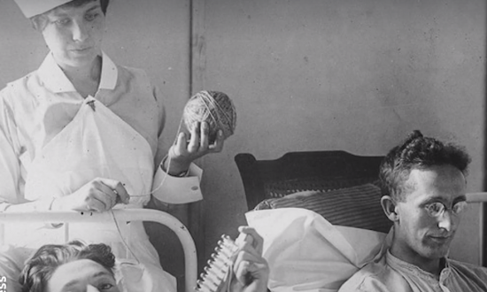 Women in WWII were always knitting—but then the truth comes out about what they're really doing