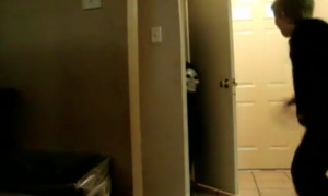 Boy comes home from school, but what happens near the front door—he was totally off guard