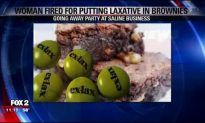 Woman Fired for What She Put in Brownies for Work Party