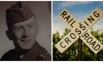 Officer goes above and beyond to rescue veteran trapped on railway tracks