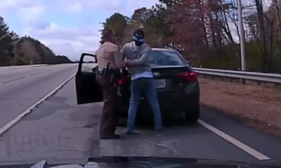 Suspect Wrestles Officer During Traffic Stop—But That's Far From the End of It