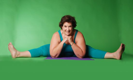 70-year-old woman is using yoga to reach people