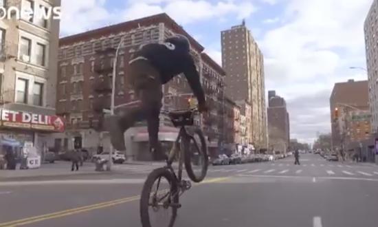 Bike Crew Gains Fame With Crazy Street Tricks