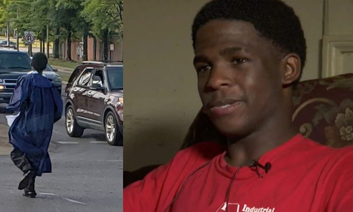 Teen's life turns around when someone finally notices his horrendous daily commute to school