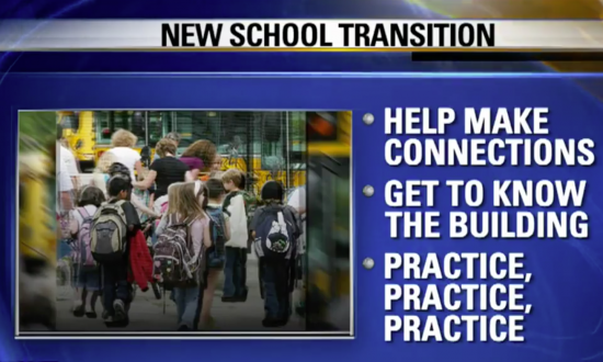 Prepare Your Child Before Starting a New School in the Fall