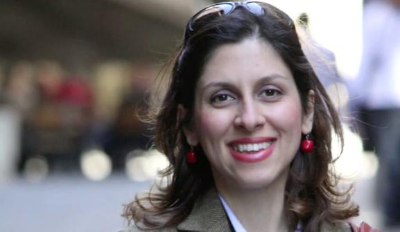 Nazanin Zaghari-Ratcliffe in London. (UK Pool/Thomson Reuters Foundation Handout/Reuters)