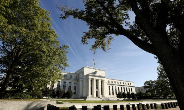 The Federal Reserve headquarters in Washington Sep.16, 2015.   (REUTERS/Kevin Lamarque/File Photo)