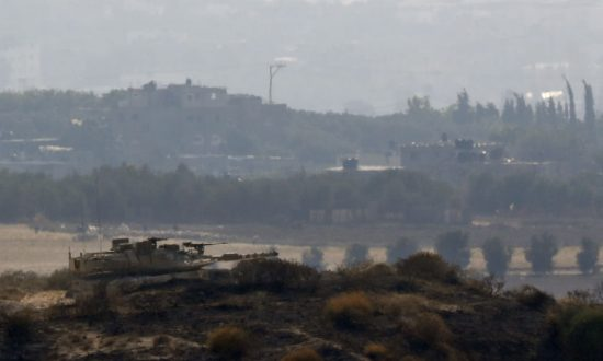 At Least 70 Mortar Shells Strike Israel, Largest Since 2014