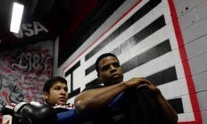 Veteran who was also a boxing champion opens gym to help at-risk-youth